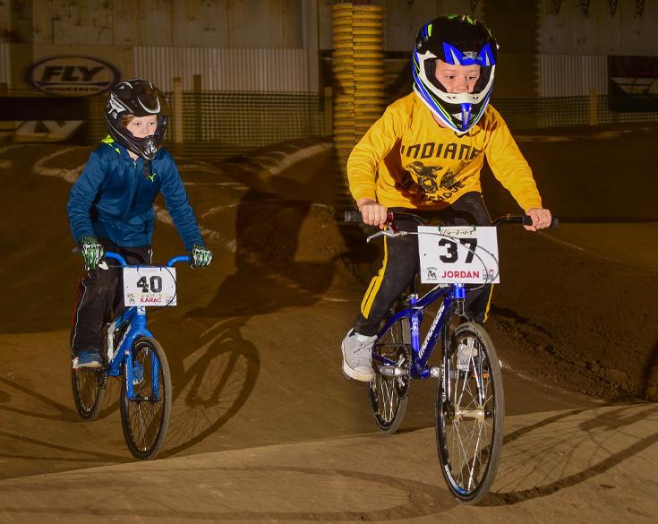 Indiana BMX League Riders