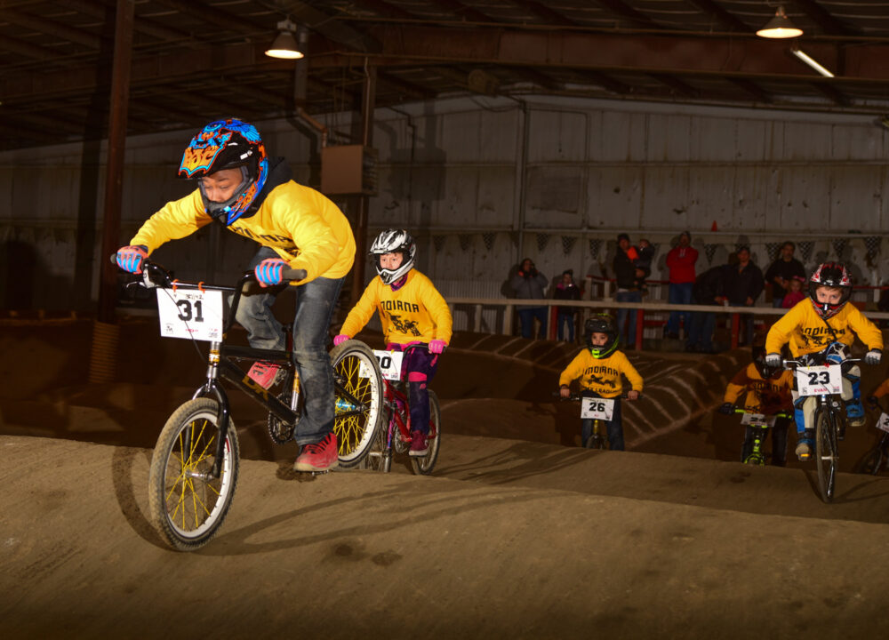 Enroll in the Indiana BMX League